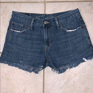 EUC Old Navy cut-off Shorts. Size 30